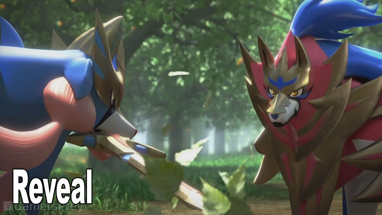 Pokemon Sword Shield Has Roaming Wild Pokemon In Huge Open Overworld