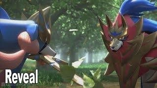 Pokémon Sword and Shield - Zacian and Zamazenta Legendary Reveal Trailer  [HD 1080P]