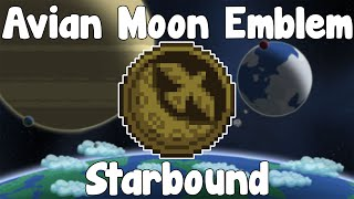 Avian Moon Emblem & Tomb , Coordinates - Starbound Guide Unstable/Nightly Build