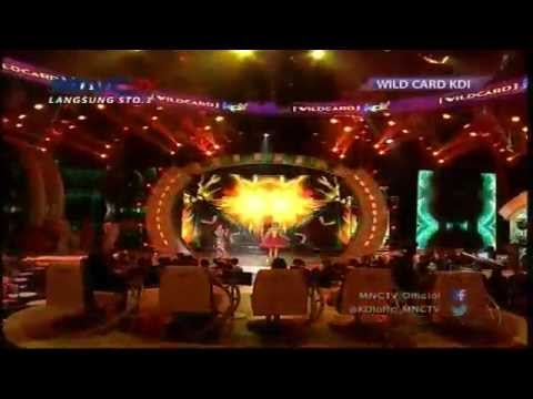 "Selfi Nafilah Feat Monica KDI "" Buaya Buntung "" - Wild Card KDI 2015 (6/4)"