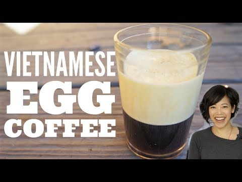 VIETNAMESE EGG COFFEE | How To Pasteurize An Egg | Coffee + Whipped Egg Topping