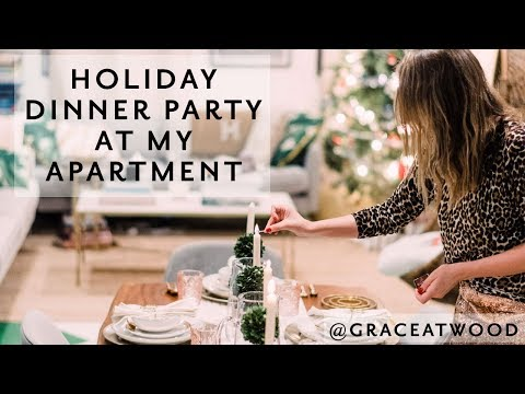 A Southern-Inspired Holiday Dinner at my Apartment in Brooklyn! | Grace Atwood, The Stripe