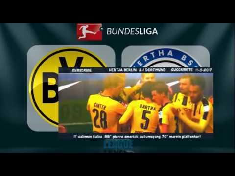 Download Hertha Berlin vs Borussia Dortmund 2 1 All Goals     480P