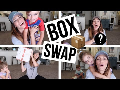 BOX SWAP WITH KEEP CALM AND CLEAN // Los Angeles Vs. Nashville Gifts