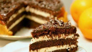 """Американский пирог сумасшедший """"Crazy Cake"""" дешево и вкусно"""