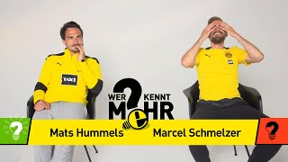 Mats Hummels vs Marcel Schmelzer | Who knows more? - BVB-Challenge