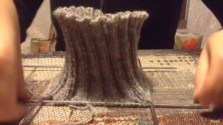 Jak obliczyc ilość pętelek dla wysokiego kołnierza na sweter.