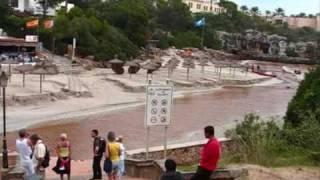 Cala´s hoppen na noodweer 28 09 09 Mallorca
