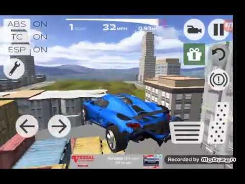 Extreme Car Driving Simulator all Bugatti car parts