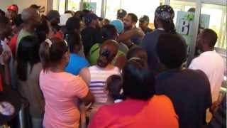 Black Friday 2012 St. Thomas, United States Virgin Islands.