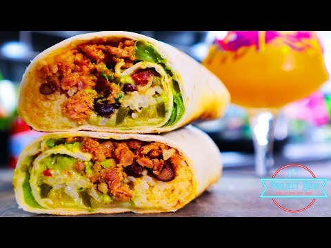 How to make The Best Burrito|THIS WILL BLOW YOUR MIND – BURRITO!