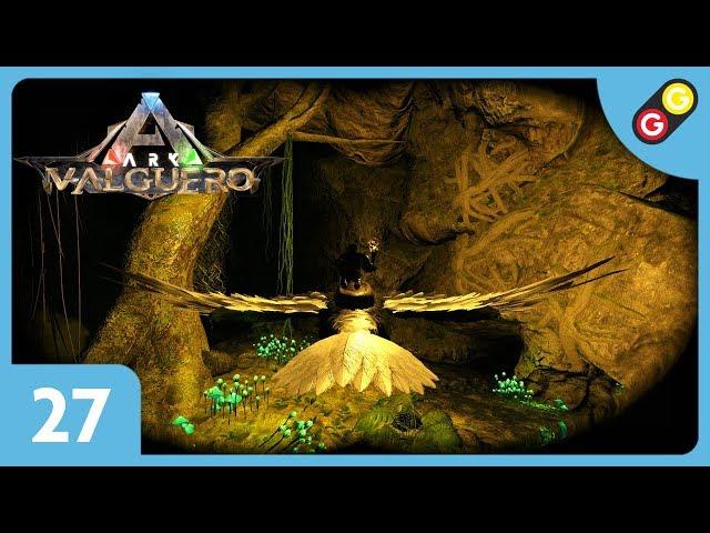 ARK : Survival Evolved - Valguero #27 On explore la grotte de la Broodmother ! [FR]