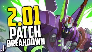 Paladins 2.01 Patch Breakdown! Huge Champion Reworks, Androxus Nerf & More! Pt.1
