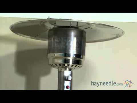 Fire Sense Hammered Bronze Patio Heater Product Review Video Youtube