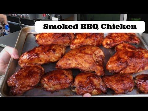 Smoked BBQ Chicken   How to BBQ chicken recipe