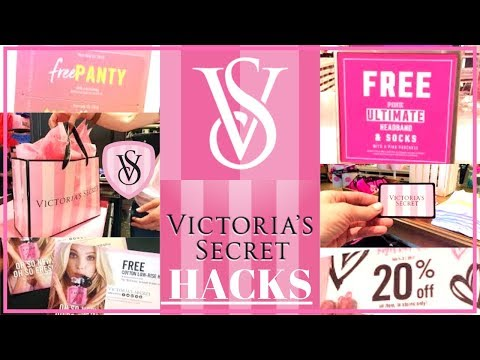 ULTIMATE VICTORIA'S SECRET HACKS! FREE THINGS + HUGE DISCOUNTS!