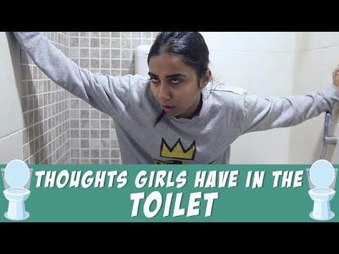 Girl In Washroom