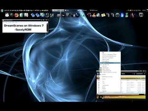 Hd Dreamscenes On Windows 7 Animated Wallpaper Youtube