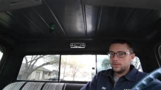Dome light install on the 71 C10 (part 2)