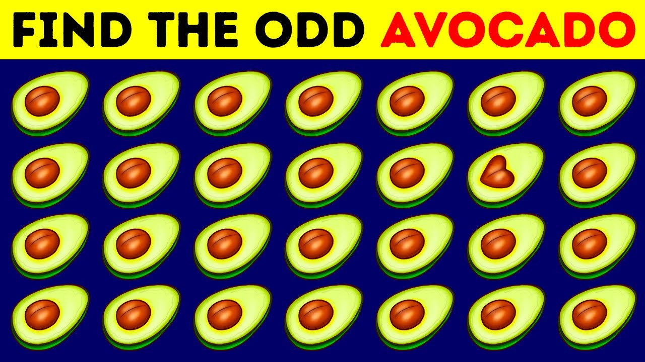 90% of People Fail to Find Even Half of the Odd Ones
