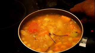 Hearty Vegetable Soup - Healthy Recipes