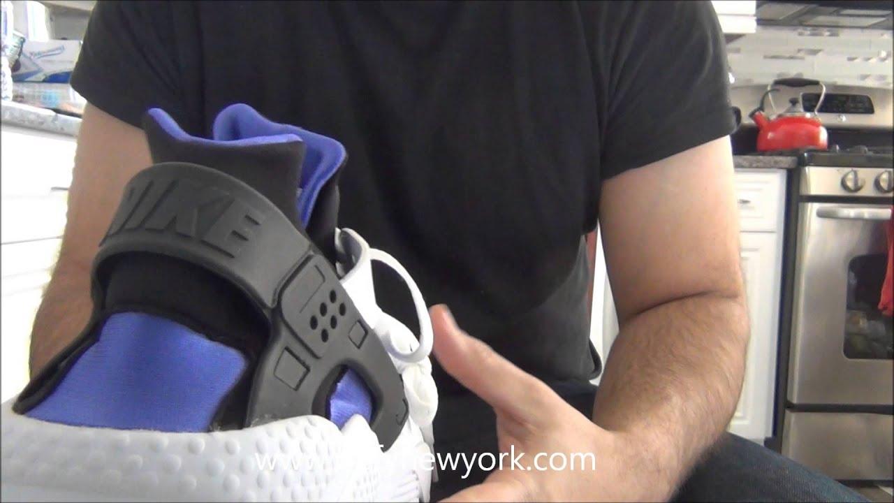 1bb5a2562650 LIVE! Nike Air Huarache ID Purple Punch Review 2015 - YouTube