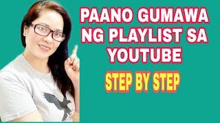 Gambar cover PAANO GUMAWA NG PLAYLIST SA YOUTUBE CHANNEL KO?|STEP BY STEP TUTORIAL