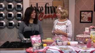 Wzzm Take Five  -  Pink Lemonade Pie - March 2014