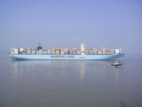 Matz Maersk || Accommodation Tour || Mighty Ship || 399m ||