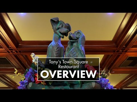 Tony's Town Square Restaurant | Magic Kingdom