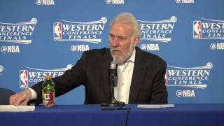 Warriors-Spurs Game 2: Popovich on playing without belief to win
