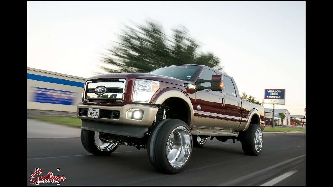 Ford F250 On 26x14 Specialty Forged On A 8 Quot Lift With