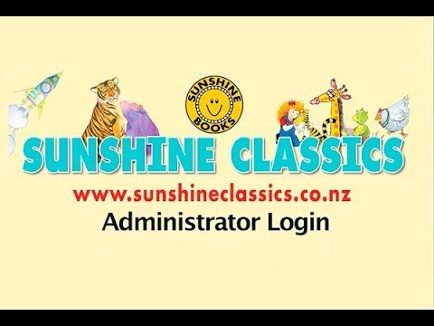 Sunshine Classics NZ Administrator Login