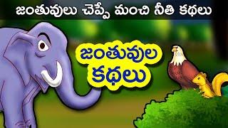 Telugu Stories for Kids | Panchatantra Telugu Kathalu | Animals Short Story for Children | movie