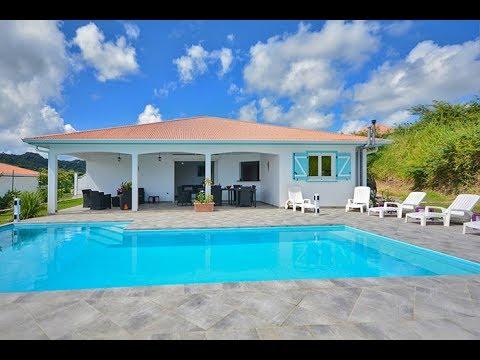 Villa Le Vauclin 4 chambres Piscine Vue Mer Terre Azur Martinique