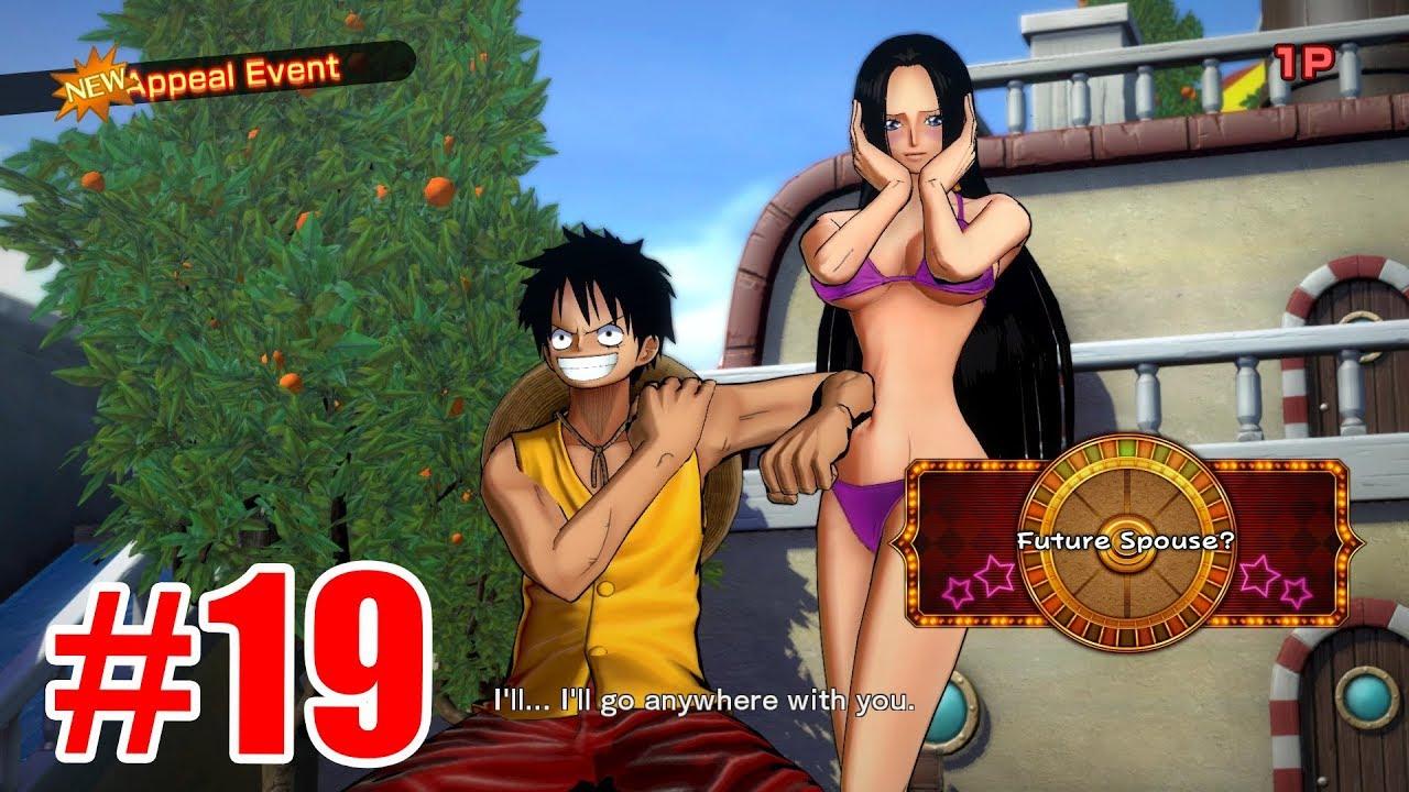 One Piece Phiêu Lưu Kí : Luffy bảo vệ người đẹp Boa Hancock – Luffy vs Siêu Tân Tinh