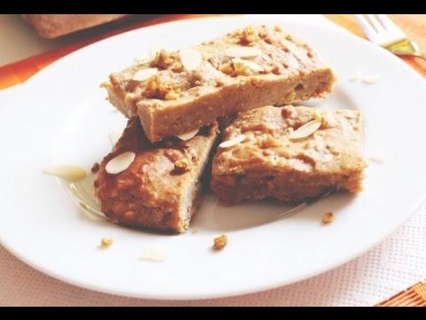Apfelblondie Gesunder Kuchen Kalorienarm Und Gesund
