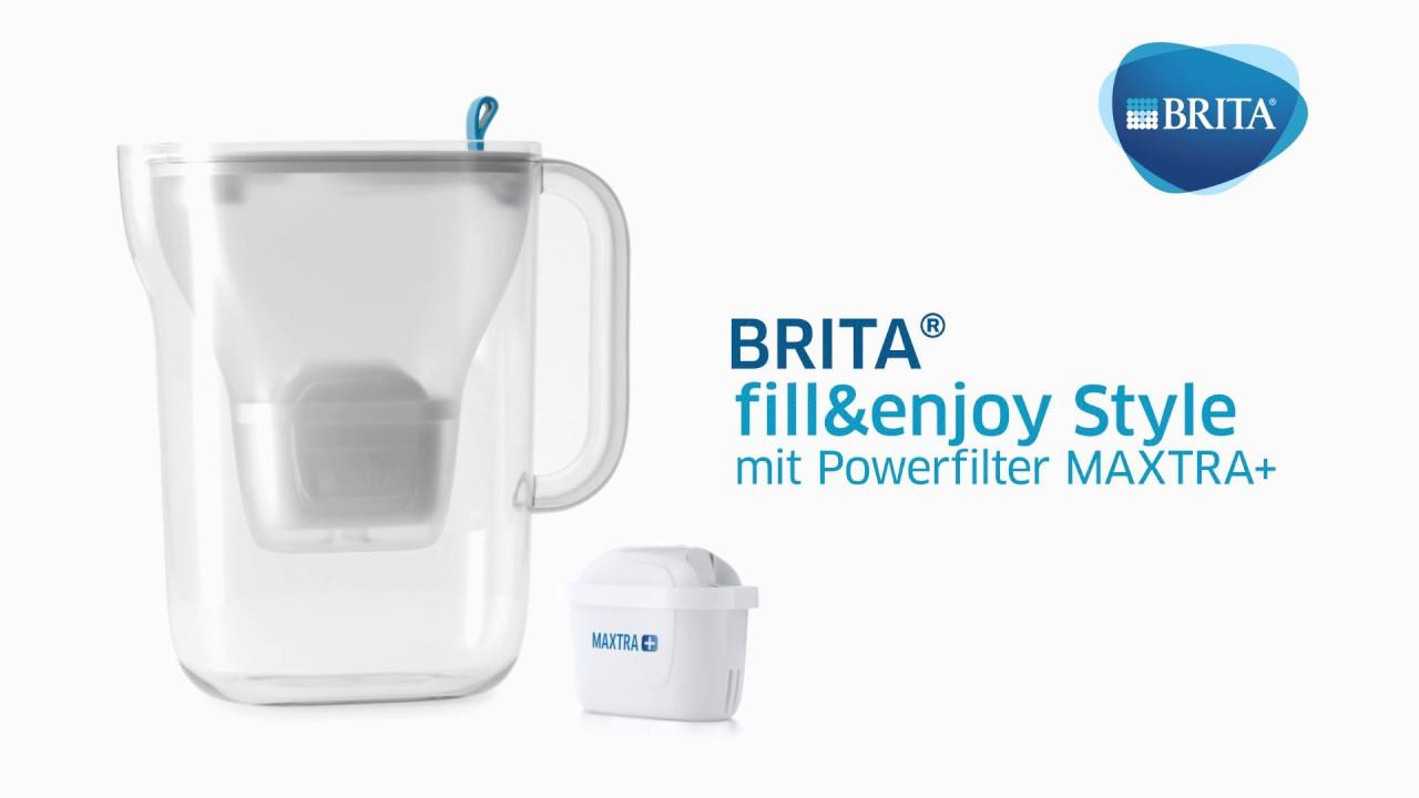 brita fill enjoy style wasserfilter neues design innovativer filter maxtra f r mehr geschmack. Black Bedroom Furniture Sets. Home Design Ideas