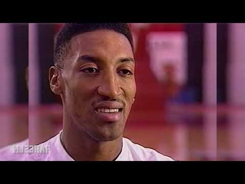 Scottie Pippen On MVP Consideration And Relationship With Michael Jordan  (1996.02.04)