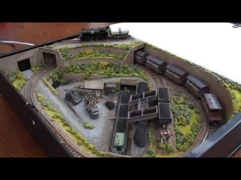 Box file model railway