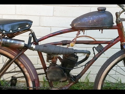 How To Start & Run A 2 Stroke Motorized Bicycle