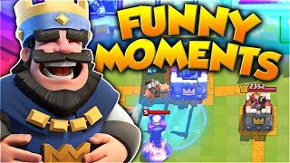 Clash Royale Funny Moments, Fails, Clutches, Trolls Compilation
