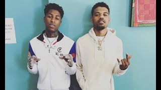 NBA YoungBoy At Community Service With Og3Three
