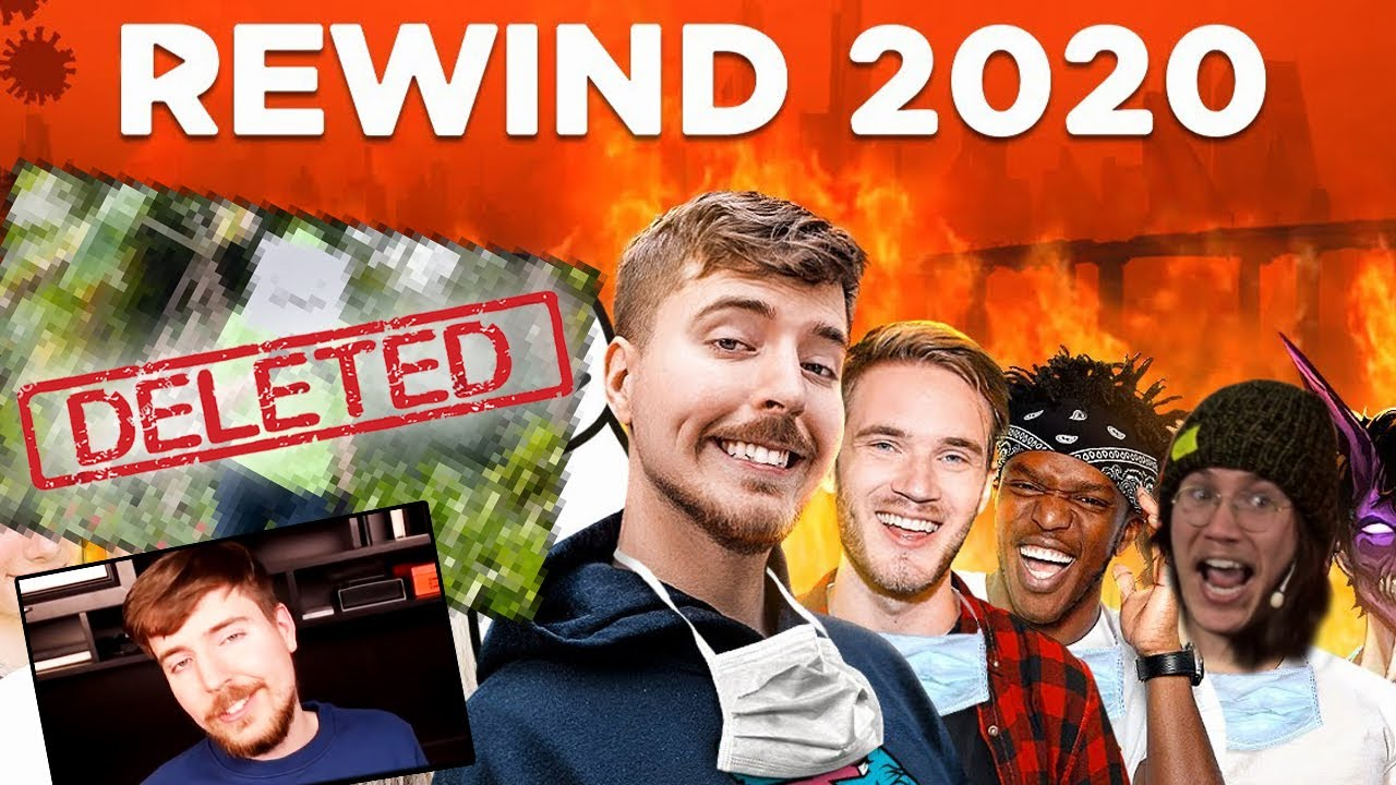 MrBeast Youtube Rewind 2020, Deleted Ending