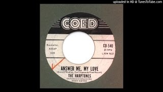 Harptones, The - Answer Me, My Love - 1960