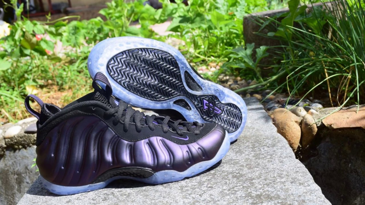 b0a56f55e11 Nike Air Foamposite One Eggplant 2017 DGSOLE ON FEET REVIEW - YouTube