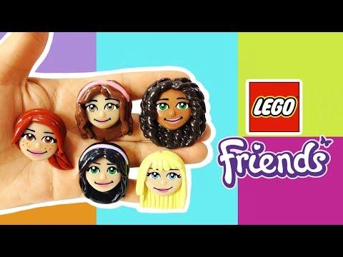 LEGO FRIENDS! Polymer Clay Tutorial
