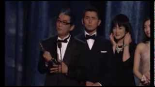 """""""Departures"""" winning the Oscar® for Foreign Language Film"""