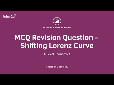 MCQ Revision Question - Shifting Lorenz Curve