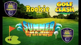 Golf Clash tips, Hole 4 - Par 4, Summer Major Tournament - Porthello Cove! Rookie - GUIDE/TUTORIAL